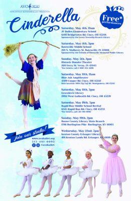 """Cincinnati Kinderballet presents """"Cinderella"""""""