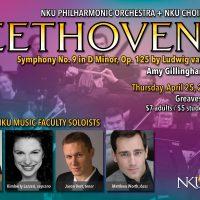 Beethoven 9 - NKU Orchestra + Choir