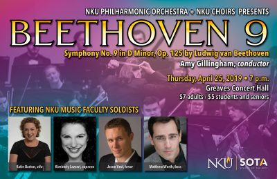 Beethoven 9 - NKU Orchestra + Choir