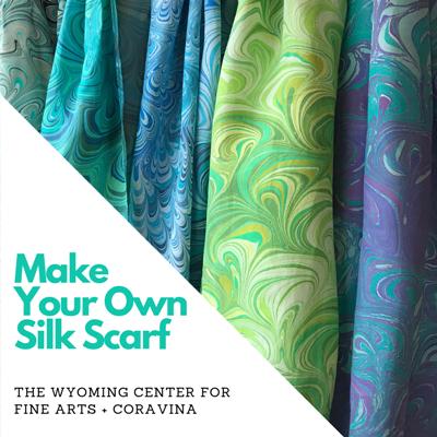 Silk Scarf Marbling