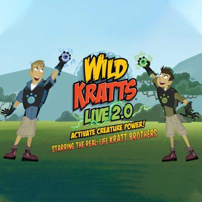 Wild Kratts LIVE 2.0: Activate Creature Power!