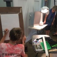 The Barn Art Camp: Fundamentals of Drawing and Painting (Grades 7-12)