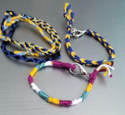 The Barn Art Camp: Macrame Friendship Bracelets (G...