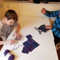 The Barn Art Camp: Zoom Loom Weaving (Grades 6-12)
