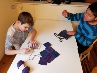 The Barn Art Camp: Zoom Loom Weaving (Grades 6-12)...
