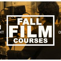Cinematic Art Courses (Teens 14-19)