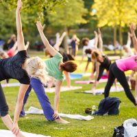 Yoga at Inwood Park