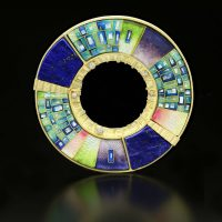 Techniques for Enriching Cloisonne Enameling: Textures, Patterns, Marking with Amy Roper Lyons