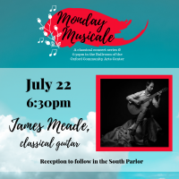 Monday Musicale: James Meade