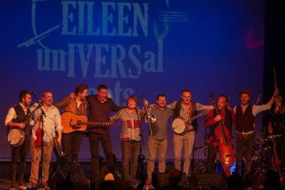 Eileen Ivers & Universal Roots in concert