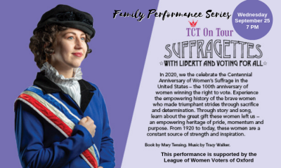 Suffragettes: With Liberty and Voting for All – Family Performance Series