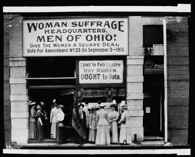 CurioCity: Suffrage Party