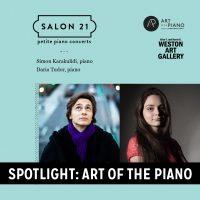 Spotlight: Art of the Piano