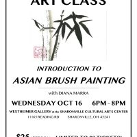 ART CLASS: Introduction to Asian Brush Painting with Diana Marra