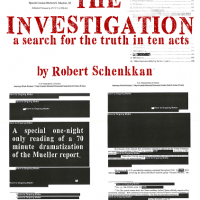 Staged Reading || The Investigation: A Search for the Truth in Ten Acts