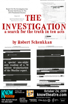 Staged Reading || The Investigation: A Search for ...