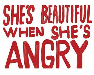 Moving Images: She's Beautiful When She's Angry