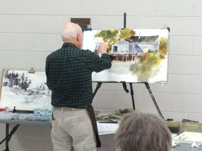 Tony Couch 4 Day Watercolor Workshop