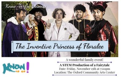 The Inventive Princess of Floralee – Family Performance Series