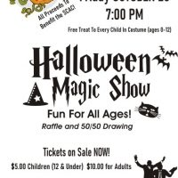 Halloween Magic Show at the Sharonville Cultural Arts Center