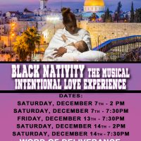 Black Nativity The Musical - Intentional Love Experience