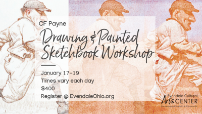 The Drawing and Painted Sketchbook Workshop with C.F. Payne