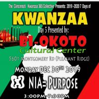 Cincinnati Citywide Kwanzaa Celebration