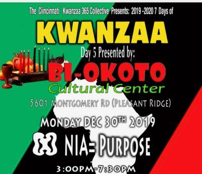 Cincinnati Citywide Kwanzaa Celebration