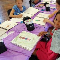 Anime and Manga Drawing Classes at the Barn for grades 4 - 8