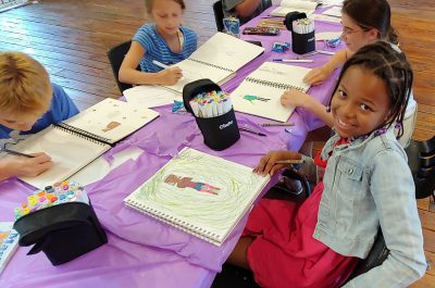 Anime and Manga Drawing Classes at the Barn for gr...