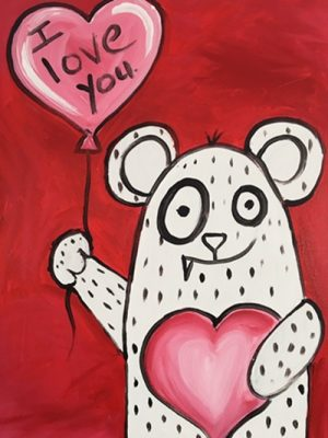 Colors & Cupcakes - Valentine Creature!