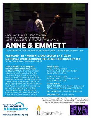 Anne & Emmett: An Imaginary Conversation between Anne Frank & Emmett Till