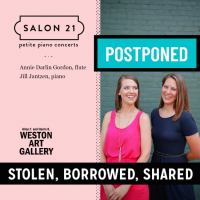 Stolen, Borrowed, Shared - postponed