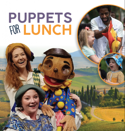 Puppets for Lunch
