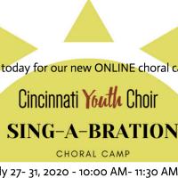 Sing-A-Bration Online Summer Choral Camp
