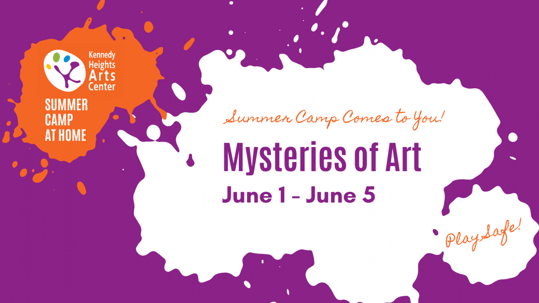 Mysteries of Art, Summer Camp at Home
