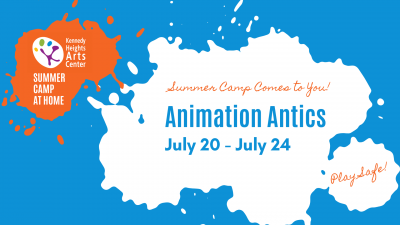 Animation Antics, Summer Camp at Home