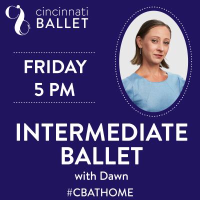 Cincinnati Ballet – Intermediate Ballet on Faceb...