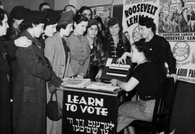 Jewish Women and the Vote