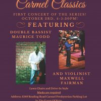 Carmel Classics featuring Maurice Todd and Maxwell Fairman