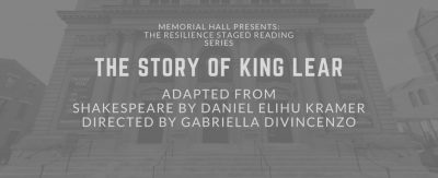 The Resilience Staged Reading Series: THE STORY OF...