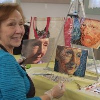 "Art Classes for Adults Beginning at the Barn in September - limited size, come create ""safely""!"