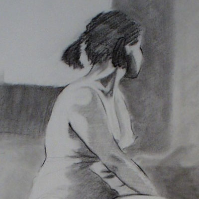 Long Pose Figure Drawing Classes with Charlie Berger at The Barn