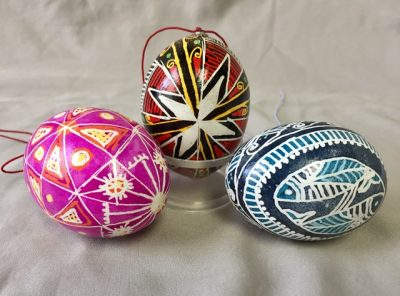 Create Decorated Eggs in the Ukrainian Style at Th...