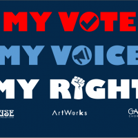 My Vote, My Voice, My Right Virtual Concert Series