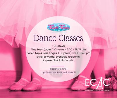 Ballet,Tap & Jazz Dance Class