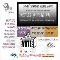 Women's Suffrage, Rights, Power -A Panel Discussion -Diverse Voices