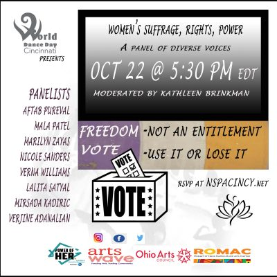 Women's Suffrage, Rights, Power -A Panel Discussio...