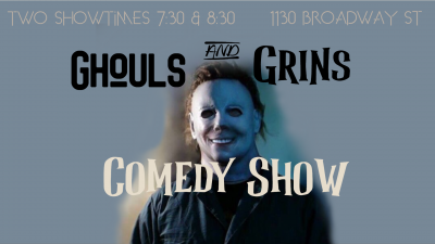 Ghouls and Grins Comedy Show