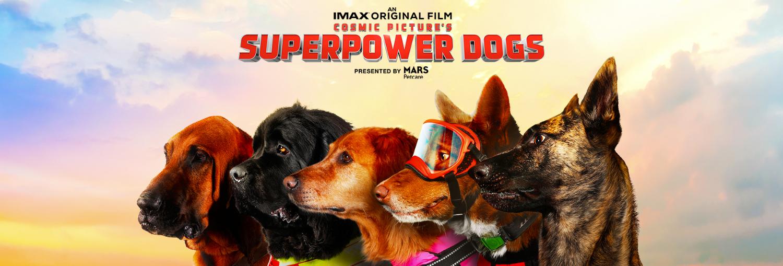 OMNIMAX film: Superpower Dogs